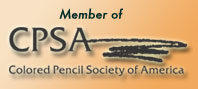 Member of Colored Pencil Society of America
